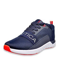 Boys' Alier Youth Sneakers by Nautica in Navy, Shoes