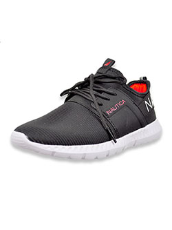 Boys' Tonal Sneakers by Nautica in Black, Shoes