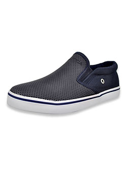 Girls' Perforated Slip-On Sneakers by Nautica in Navy