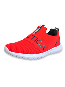 Boys' Canvey Knit Shoes by Nautica in Red, Youth