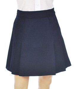 Nautica Little Girls' Stitched Pocket Scooter Skirt (Sizes 4 - 6X) - CookiesKids.com