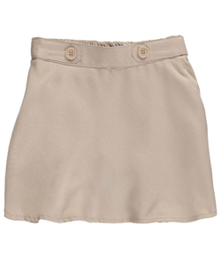 "Nautica Little Girls' Toddler ""Button Tab Waist"" Scooter Skirt (Sizes 2T – 4T) - CookiesKids.com"