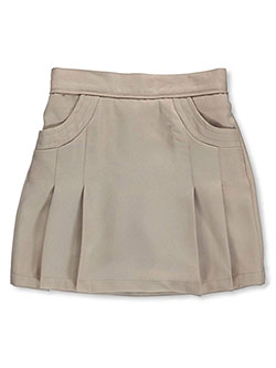 Scooter Skirt by Nautica in khaki and navy