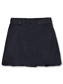 "Nautica Little Girls' ""Button Tab Waist"" Scooter Skirt (Sizes 4 – 6X) - CookiesKids.com"