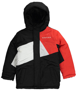 "Nautica Little Boys' ""Frosted Sail"" Insulated Jacket (Sizes 4 – 7) - CookiesKids.com"