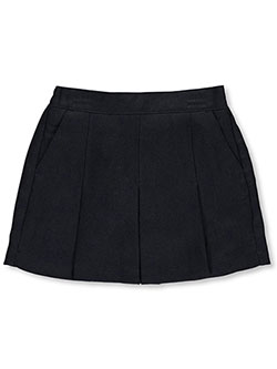 "Little Girls' ""Kickpleat"" Scooter Skirt by Nautica in Navy"