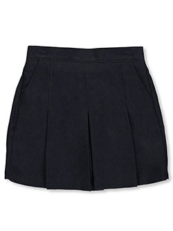"Big Girls' ""Kickpleat"" Scooter Skirt by Nautica in Navy"