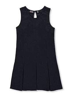 "Big Girls' ""Pleated Skirt"" Jumper by Nautica in Navy - Jumpers"
