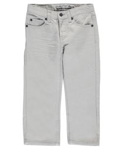 "Nautica Little Boys' ""Grayscale"" Straight Fit Jeans (Sizes 4 – 7) - CookiesKids.com"