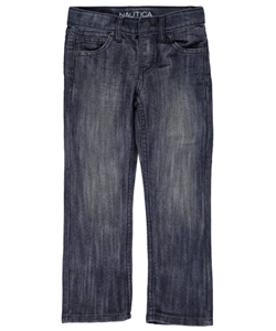 "Nautica Little Boys' ""Bedford"" Skinny Fit Jeans (Sizes 4 – 7) - CookiesKids.com"