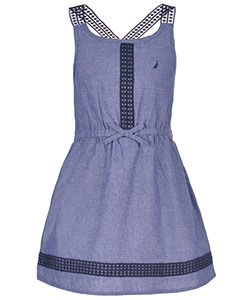 "Nautica Little Girls' Toddler ""Moira"" Dress (Sizes 2T – 4T) - CookiesKids.com"