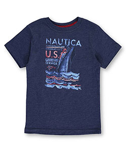 Nautica Little Boys' T-Shirt (Sizes 4 – 7X) - CookiesKids.com
