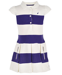 Nautica Little Girls' Toddler Pique Polo Dress (Sizes 2T – 4T) - CookiesKids.com