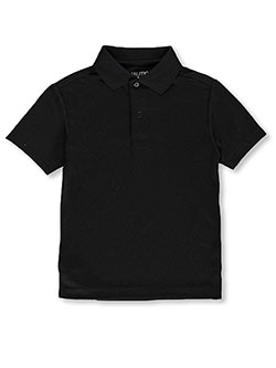 S/S Moisture Wicking Performance Polo by Nautica in Black