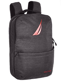 Backpack by Nautica in Charcoal gray, School Uniforms
