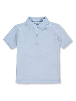 Boys' School Uniform Pique Polo by Nautica in blue, burgundy, yellow and more