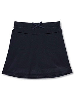 School Uniform Patch Pocket Scooter Skirt by Nautica in Navy
