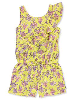Girls' Floral Jersey Jumper by Nautica in Yellow