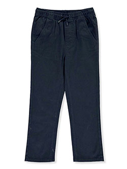 Boys' Drawstring Twill Pants by Nautica in Navy
