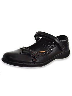 Girls' P-Luna School Shoes by Nina in Black
