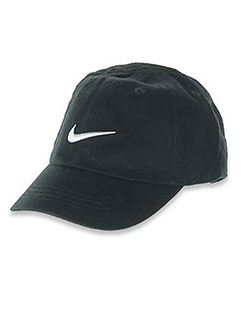 Logo Cap by Nike in Black, Infants