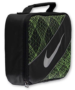 Large Insulated Lunchbox by Nike in Black/volt