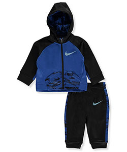 Baby Boys' Therma Dri-Fit 2-Piece Tracksuit by Nike in Blue jay - Active Sets