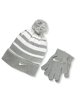 Boys' Beanie & Gloves Set by Nike in Dark gray heather - $32.00