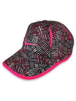 Unisex Featherlight Dri-Fit Baseball Cap by Nike in Black/hyper pink, Girls Fashion