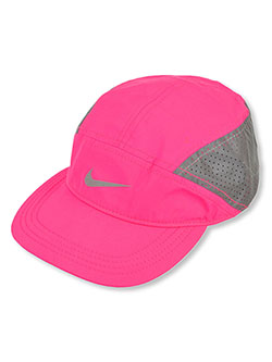 Unisex Featherlight Dri-Fit Baseball Cap by Nike in Hyper pink, Girls Fashion