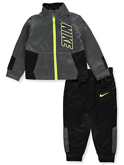 Baby Boys' 2-Piece Tracksuit Pants Set by Nike in Black