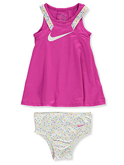 Baby Girls' Dri-Fit 2-Piece Dress Set by Nike in Pink