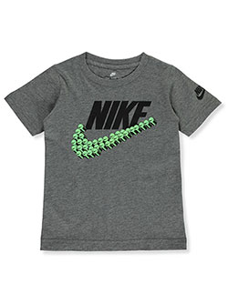 Boys' Athletic Top by Nike in Carbon heather
