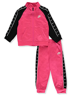 Baby Girls' Track Suit by Nike in Hyper pink