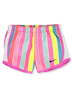 Girls' Striped Performance Shorts by Nike in Pink, Sizes 2T-4T