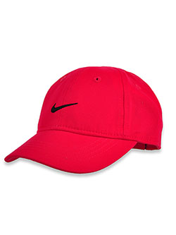 Baby Girls' Swoosh Cotton Cap by Nike in Racer print, Infants