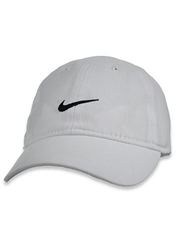 Unisex Baby Swoosh Cotton Cap by Nike in White, Infants