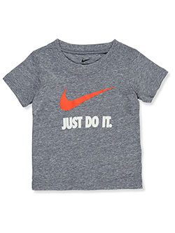 Baby Boys' Just Do It T-Shirt by Nike in White, Infants