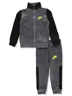 Color Block 2-Piece Track Suit by Nike in Multi