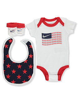 Baby Boys' Americana 3-Piece Layette Set by Nike in Multi