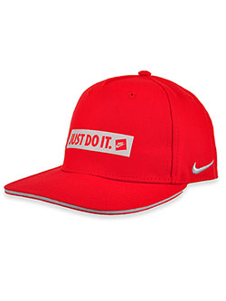 Boys' Just Do It Cap by Nike in University red