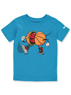 Boys' Basketball T-Shirt by Nike in Blue - $21.00