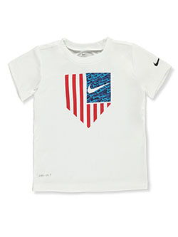 Baby Boys' Dri-Fit T-Shirt by Nike in Black, Infants