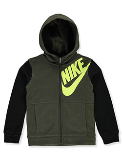 Boys' Zip Hoodie by Nike in Blue - Hoodies
