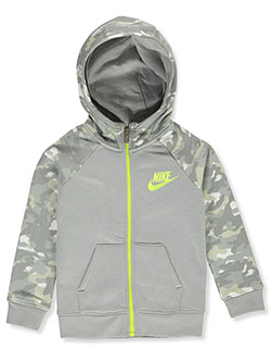 Boys' Zip Hoodie by Nike in Gray - Hoodies