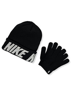 Boys' Beanie & Gloves Set by Nike in Black - $32.00