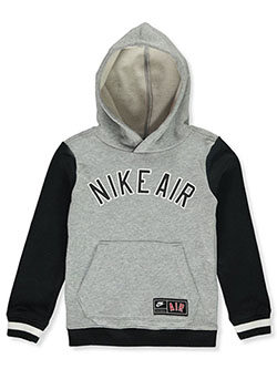 Boys' Pullover Hoodie by Nike in Gray