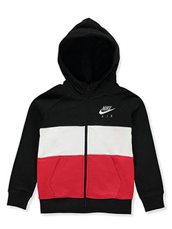 Boys' Zip Hoodie by Nike in University red - Hoodies