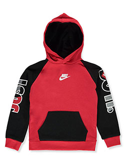 Boys' Pullover Hoodie by Nike in University red - Hoodies