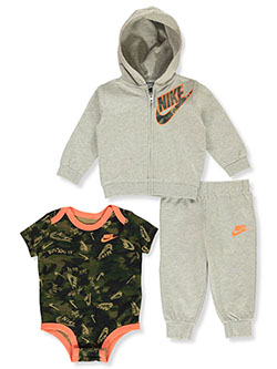 Baby Boys' 3-Piece Layette Set by Nike in Multi